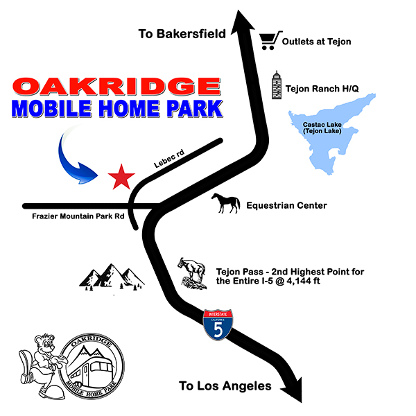 oakridge map