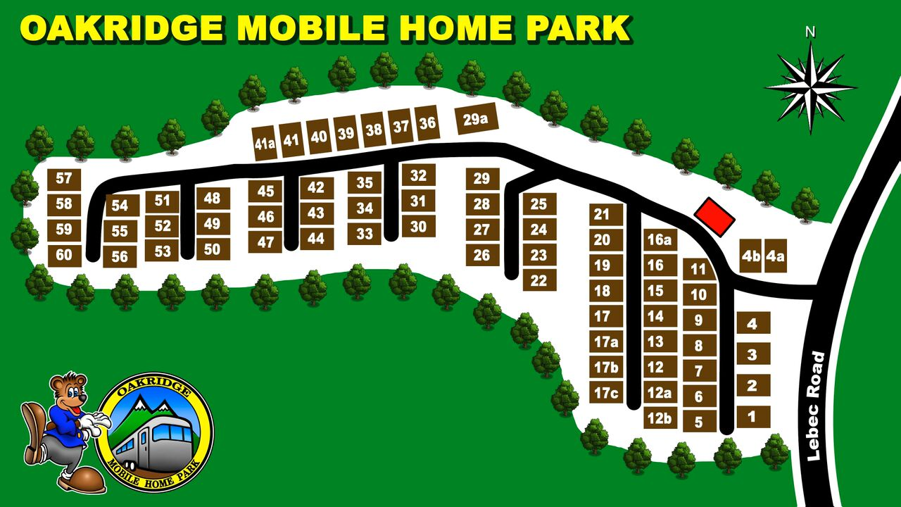 oakridge park map