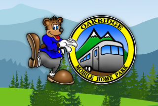 oakridge mobile home park logo