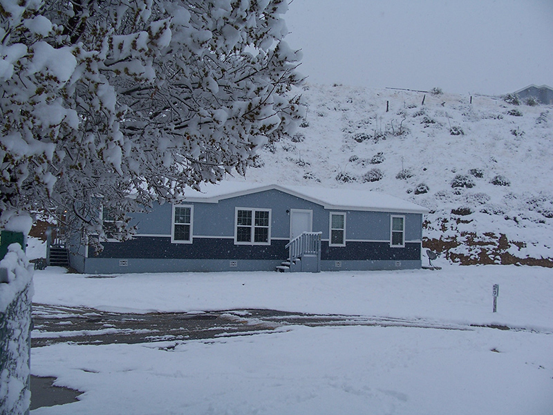 Snow at Oakridge